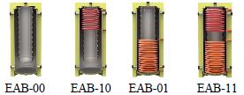Тепловые аккумуляторы EAB