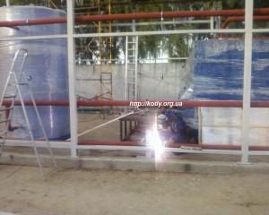 Установка котлов на твердом топливе, мощность - 300kvt