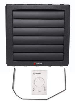 Комплект HC STANDARD (тепловентилятор + кронштейн + 3-х ступенчатый регулятор скорости с термостатом HC3S)